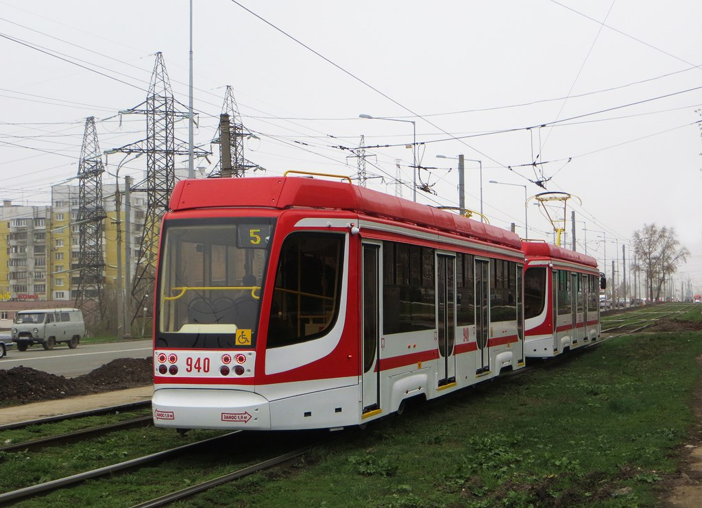 Трамвай в Самаре, запущенный к Чемпионату мира 2018
