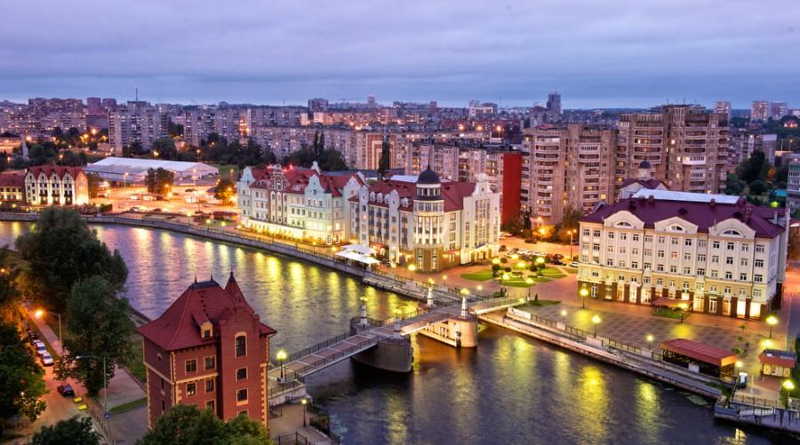 Река в Калининграде